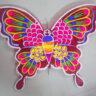 Lồng đèn giấy kiếng con bướm mẫu 2