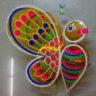 Lồng đèn giấy kiếng con bướm mẫu 6