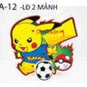 Lồng đèn nhựa 3D Pikachu