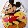 Lồng đèn nhựa chuột Mickey