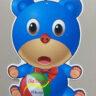 Lồng đèn nhựa con gấu